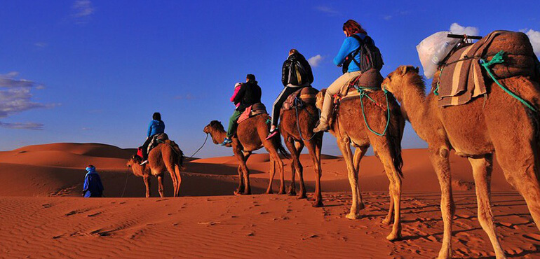 fes to marrakech desert tours 2 days